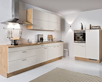 Elektrogeräte Küche | Amazon De Kuche Magnolienweiss Doro Rechts 280cm 120cm Breit Inkl