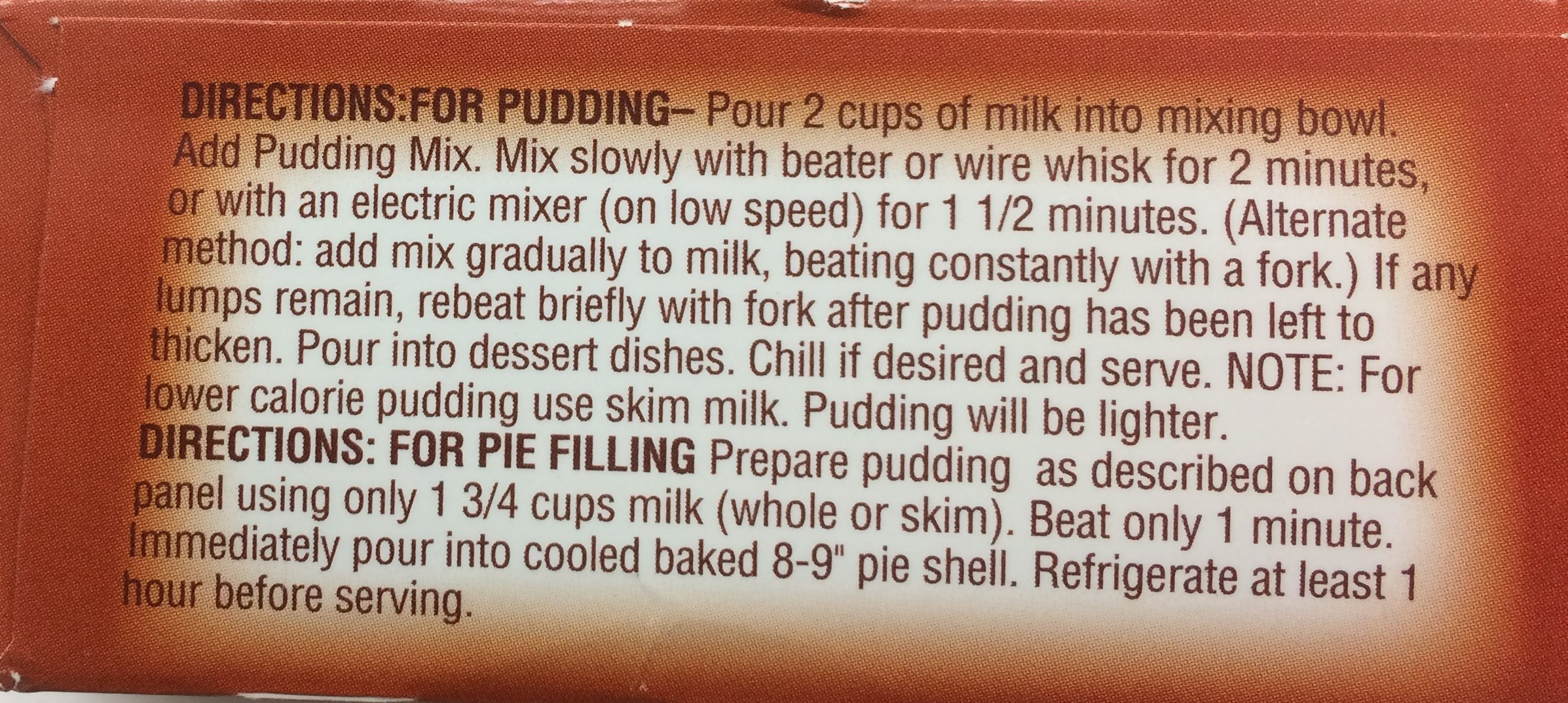 Gefen Instant Diet Chocolate Pudding Pie Filling Kosher For Passover 1.4 Oz. Pack Of 3.