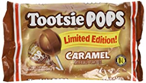 Tootsie POPS Limited Edition Caramel Lollipops 12.6 oz (Pack of 2) 42 TOTAL POPS