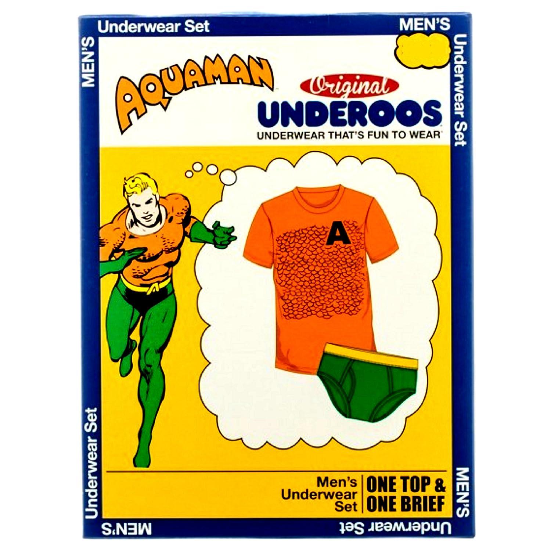 67d9a4b6681 Amazon.com  Underoos DC Comics Aquaman (Small)  Home   Kitchen