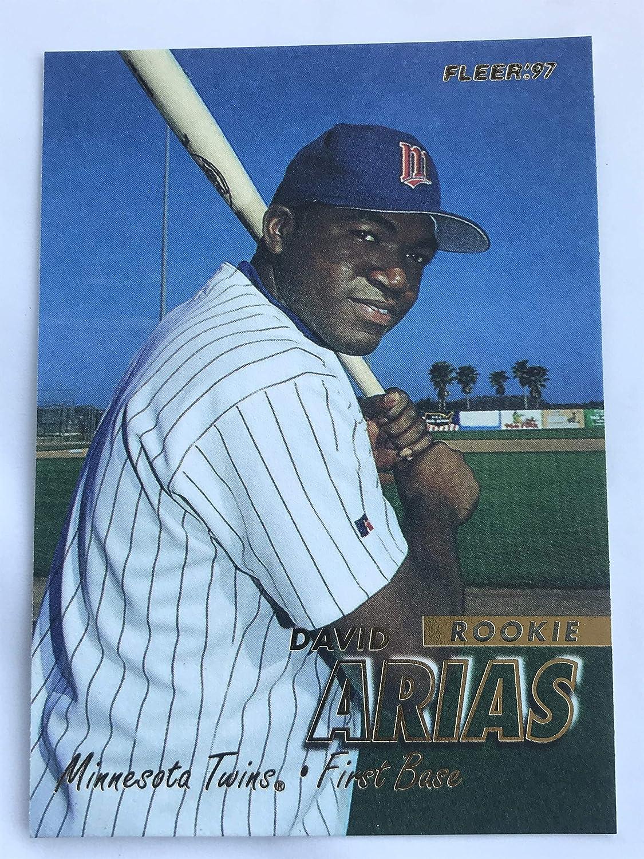 1997 Fleer Ultra #518 David Ortiz Minnesota Twins RC Rookie Baseball Card