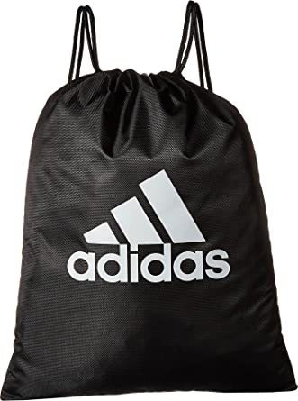 748697a0ec1a Amazon.com: adidas Unisex Tournament II Sackpack Black/White One ...