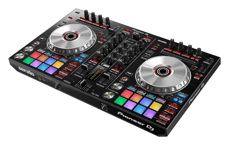 front facing Pioneer DJ DDJ-SR2