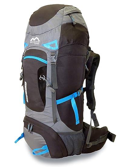 MONTIS ARACAR 55 - Mochila de Trekking y Senderismo - 55 l - 70 x 32
