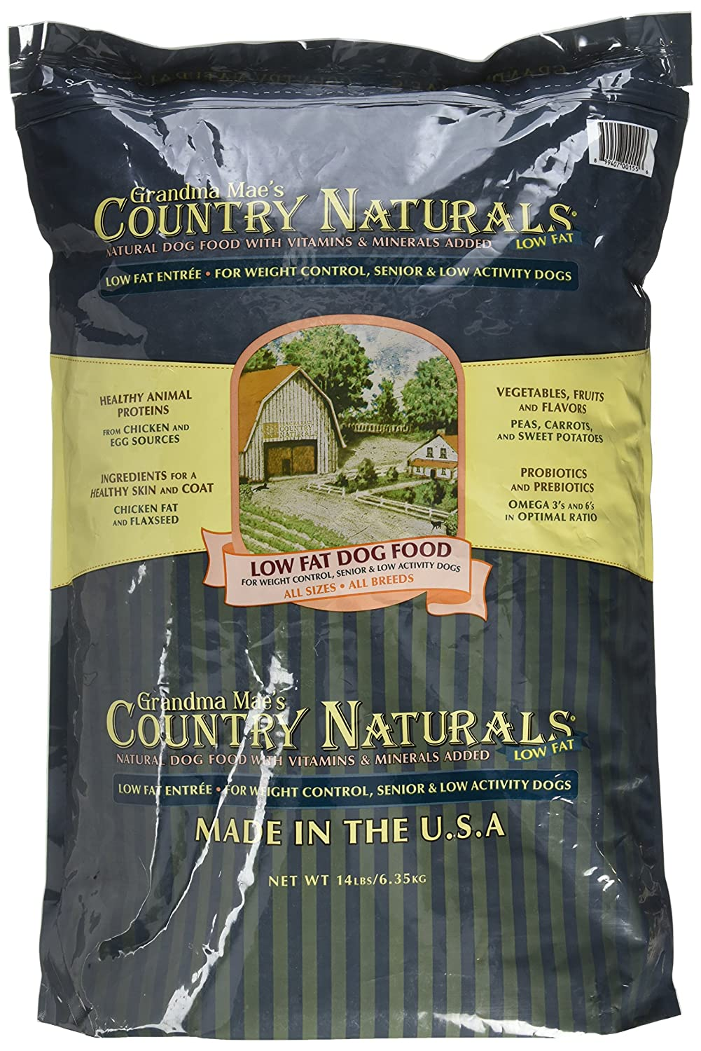 Grandma Mae'S 79700155 14 Lb Country Naturals Low Fat, One Size
