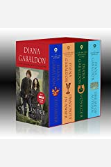 Outlander 4-Copy Boxed Set: Outlander, Dragonfly in Amber, Voyager, Drums of Autumn Mass Market Paperback