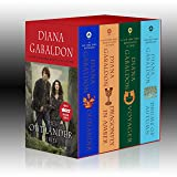 Outlander Boxed Set: Outlander, Dragonfly in Amber, Voyager, Drums of Autumn [Idioma Inglés]