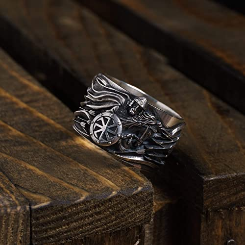 Amazon com: Prophetic Oleg/Silver Ring/Slavic Jewelry/Slavic