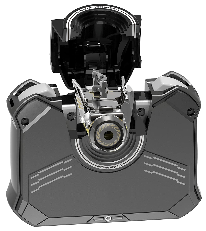 Silverlit Nano Spy Cam Video Helicopter Gold/Black 84729-G Toys ...