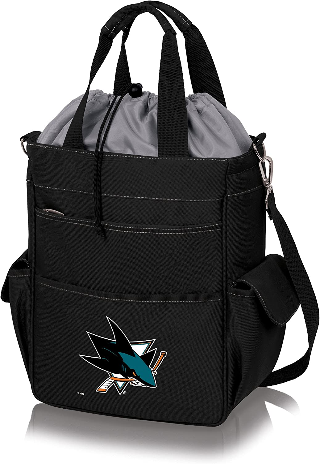 PICNIC TIME NHL San Jose Sharks Insulated Activo Tote Black