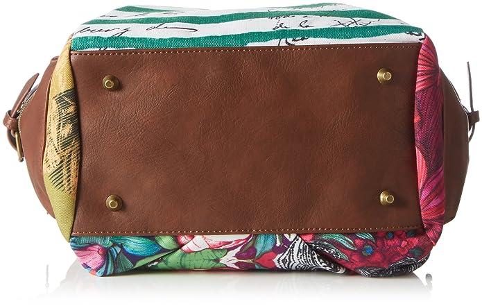 Desigual Mcbee Mentawai Borse per donna, green: Scarpe e borse