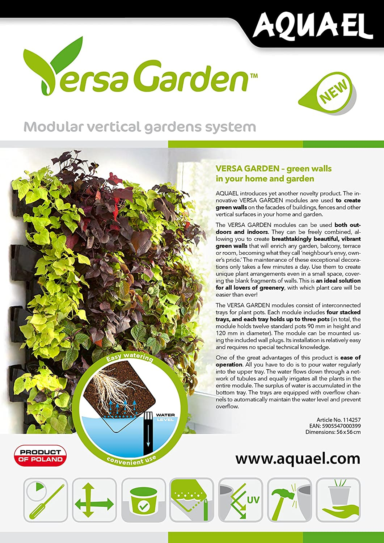 Aquael Versa Garden grüne Wand Pflanzen-Wandmodul