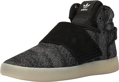 Ups almuerzo Brillante  Amazon.com | adidas Originals Men's Tubular Invader Strap JC Running Shoe |  Running