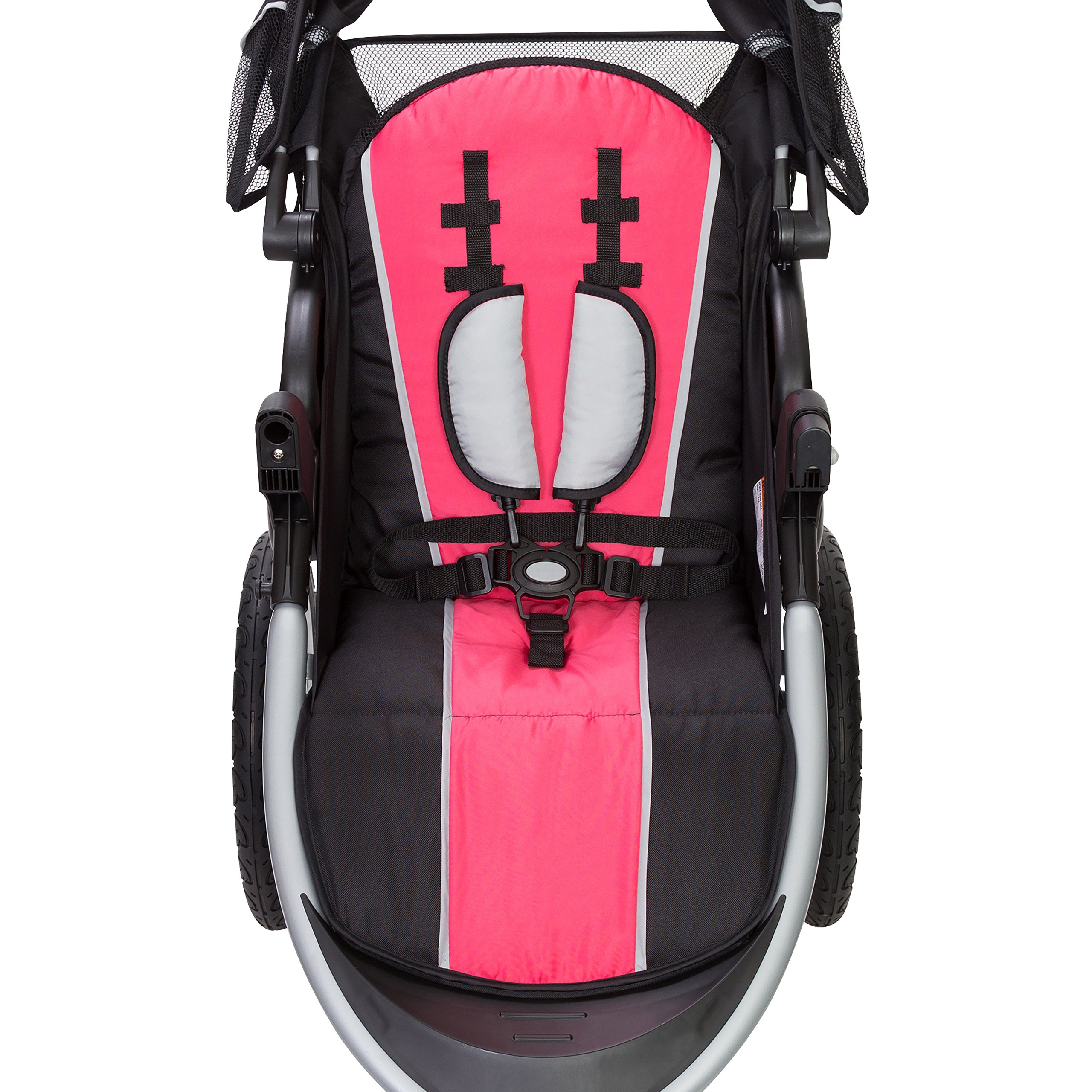 Baby Trend Pathway 35 Jogger Stroller, Optic Pink by Baby Trend (Image #3)