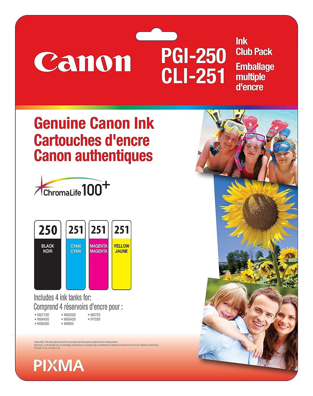 Canon Genuine CLI-251XL Magenta Ink Tank CLI-251 M XL Printer & Plotter Supplies