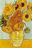 Grande stampa artistica su tela Van Gogh girasoli 76,2x 50,8cm, tela pronta da appendere da interni