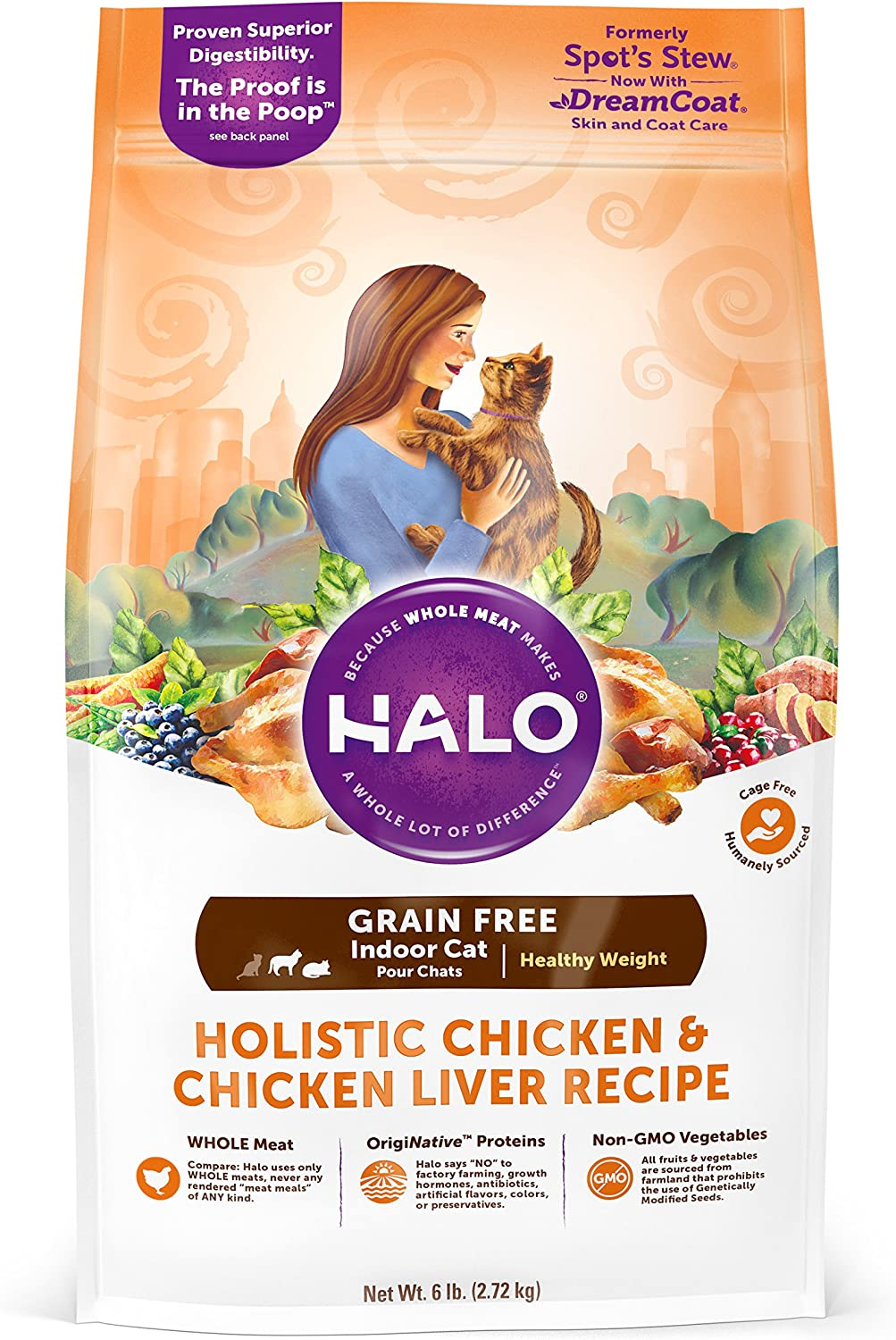 Halo Spot's Stew cat food