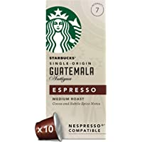 Starbucks 星巴克 危地马拉胶囊咖啡 兼容Nespresso咖啡机 (12包,共120粒胶囊)