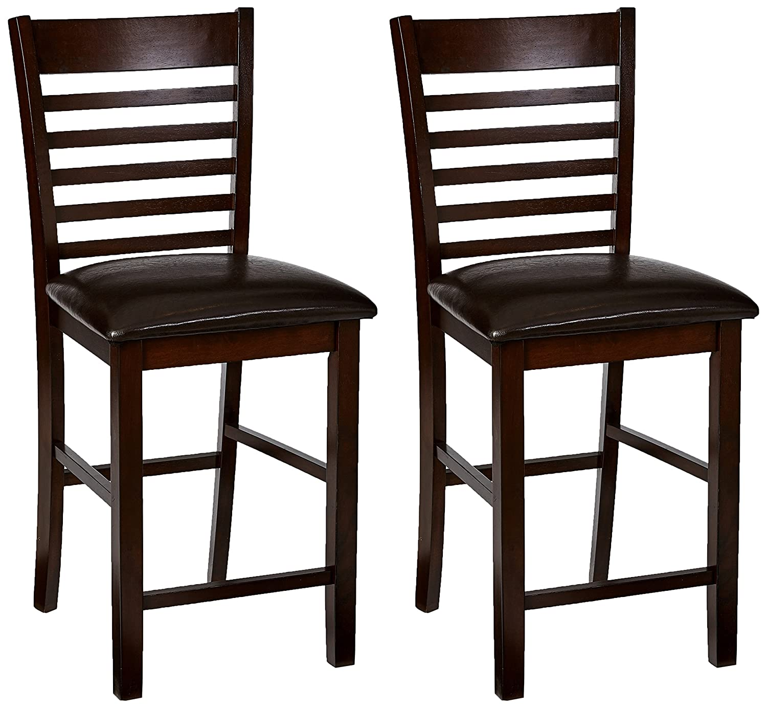 Amazon Com Simmons Casegoods Carson Chairs 2 Pack Kitchen Dining