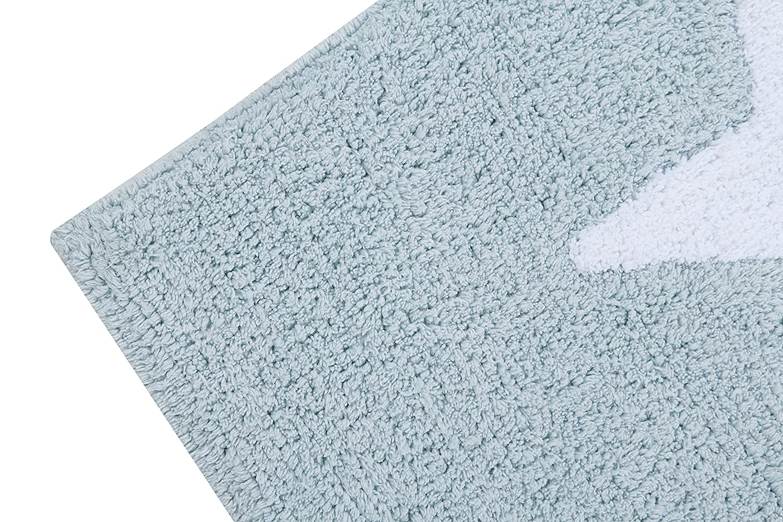 Alfombra lavable color azul Happy Decor Kids HDK-228