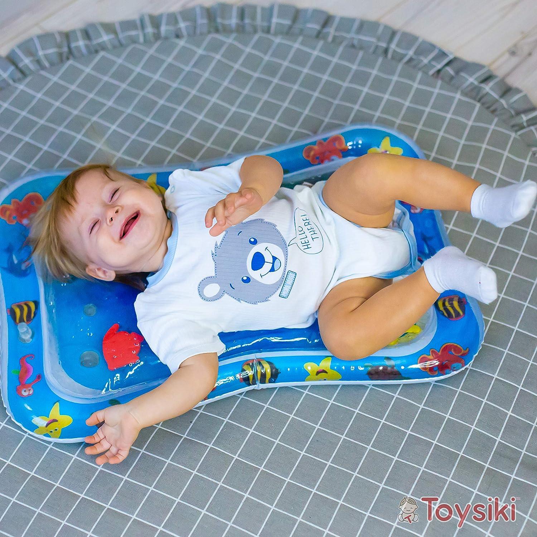 Amazon.com: Toysiki - Esterilla hinchable para bebés de 3 a ...