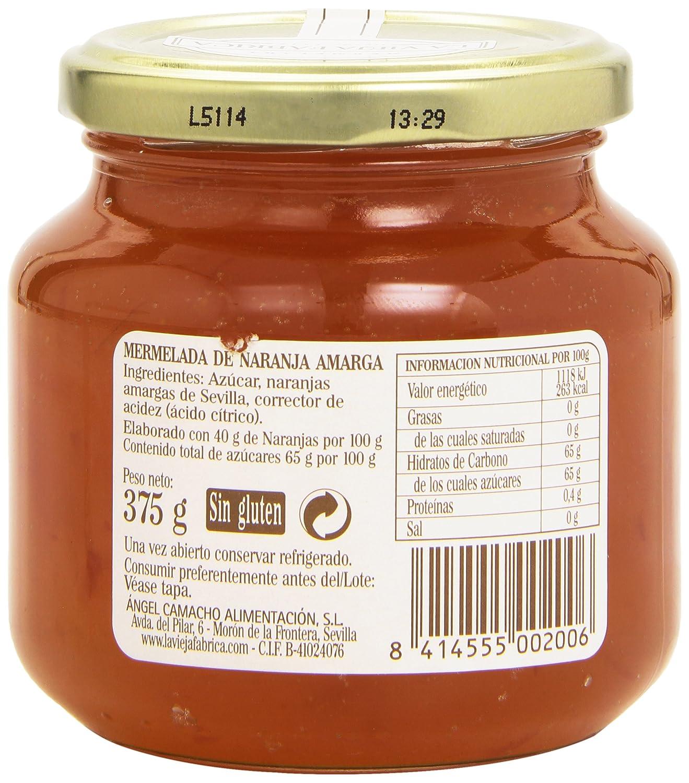La vieja fábrica - Naranja Amarga - Mermelada - 375 g: Amazon.es: Alimentación y bebidas