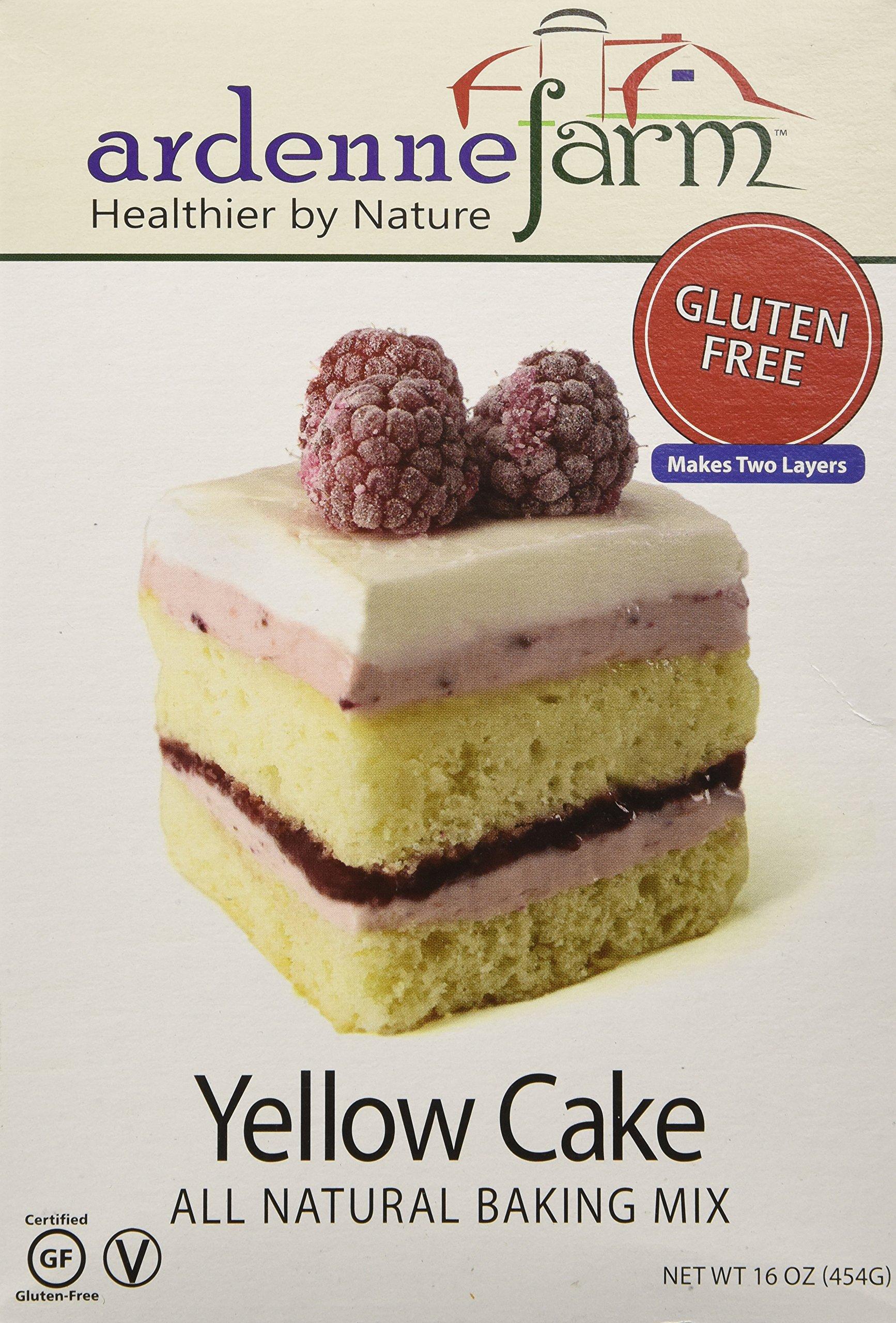 Ardenne Farm Gluten Free Yellow Cake Mix, 16 Ounce