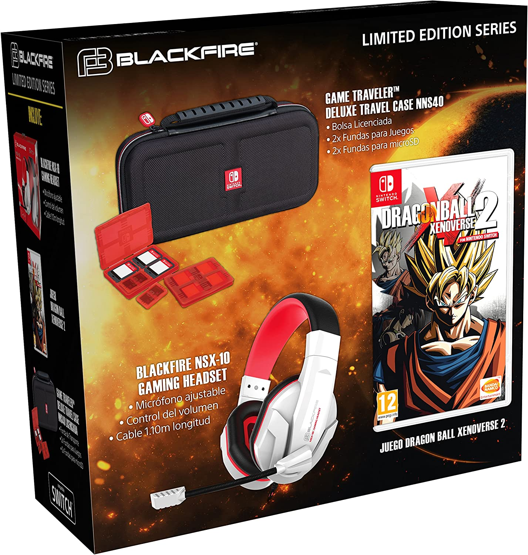 Ardistel - Switch Headset NSX-10 + Bolsa NNS40 + Dragon Ball Xenoverse 2 (Nintendo Switch): Amazon.es: Videojuegos