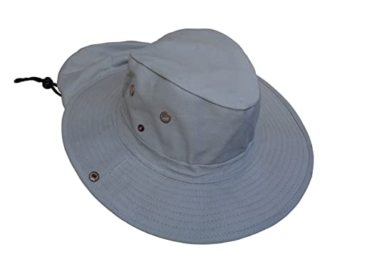 Boonie Style Military Safari Snap Brim Sun Hat with Neck Flap and Chin  Strap. Wide Brim Bucket Hat for Fishing 6d07004ff761