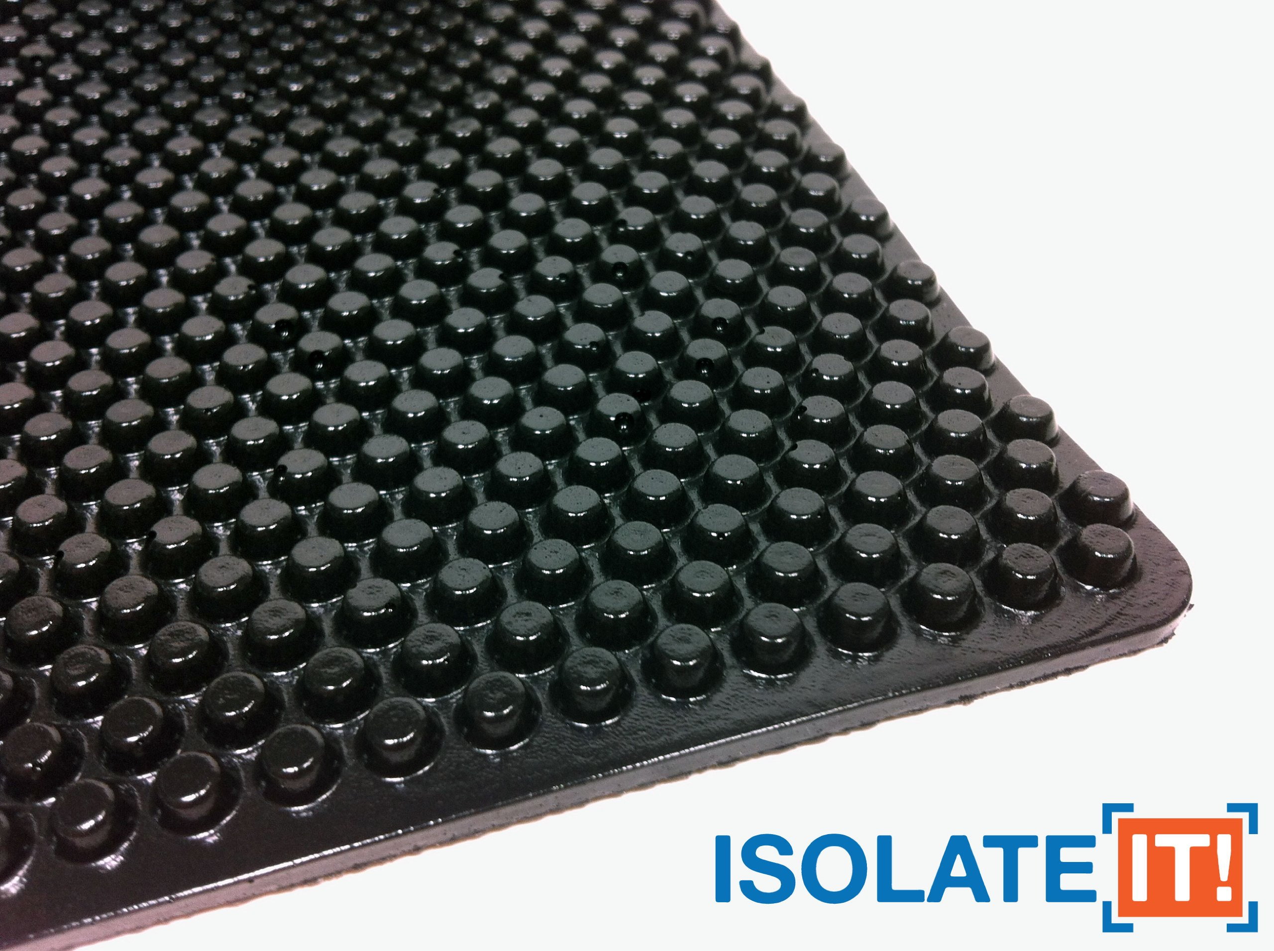 Isolate It!: Sorbothane X-Tra Flex Acoustic Vibration Damping Sheet Stock (3/16 x 12 x 14in) 50 Duro - 1 Sheet by Isolate It! (Image #2)