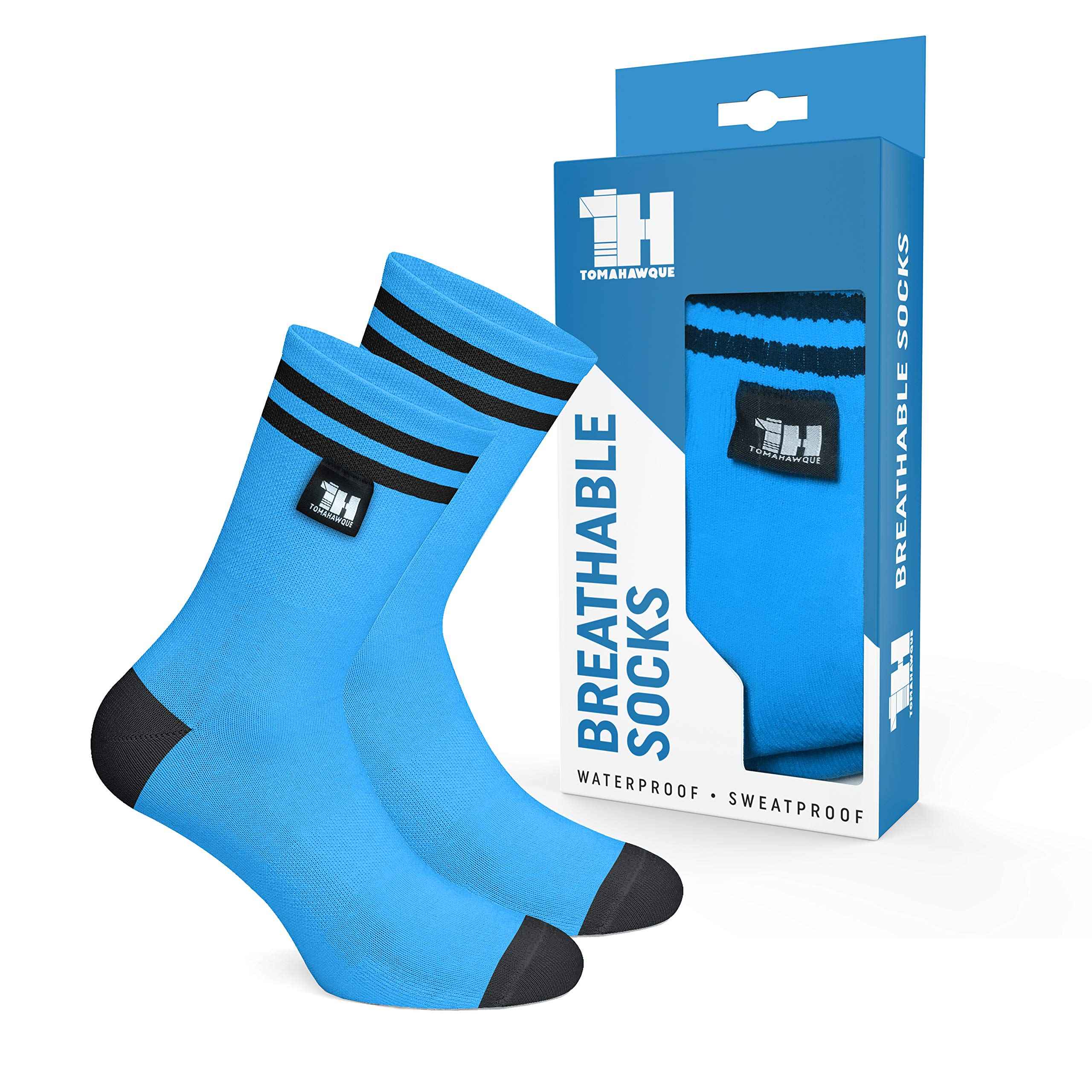 Tomahawque Waterproof Socks for Men, Women | Outdoor Hiking, Fitness, Running by Tomahawque