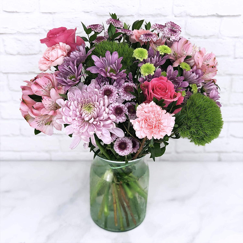 Amazon.com : Mix Flower Bouquet : Fresh Cut Format Mixed Flower  Arrangements : Grocery & Gourmet Food
