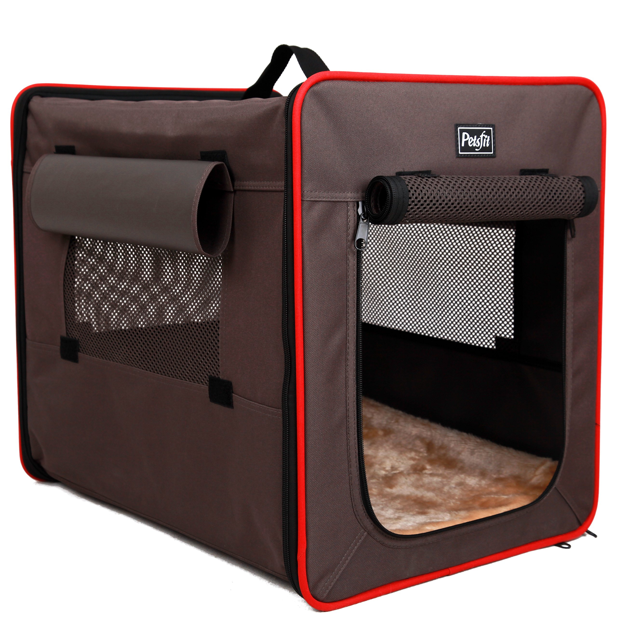 Petsfit Foldable Cat Kennel,Cat Cage,Dog Kennel,Lightweight Pet Kennel by Petsfit