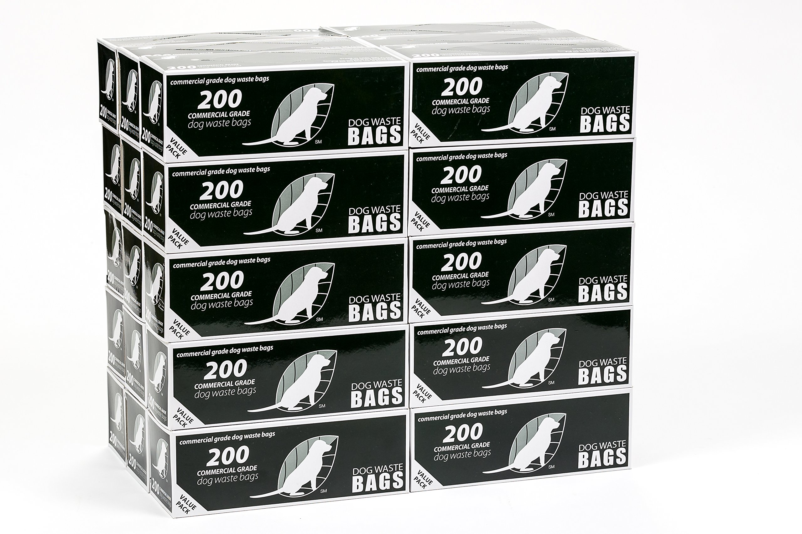 30 Roll Case of Roll Style Dog Waste Bags for Station Refill from Pooper Trooper