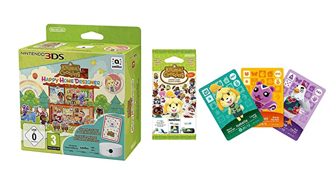 Animal Crossing: Happy Home Designer + 1 Tarjeta Amiibo + ...