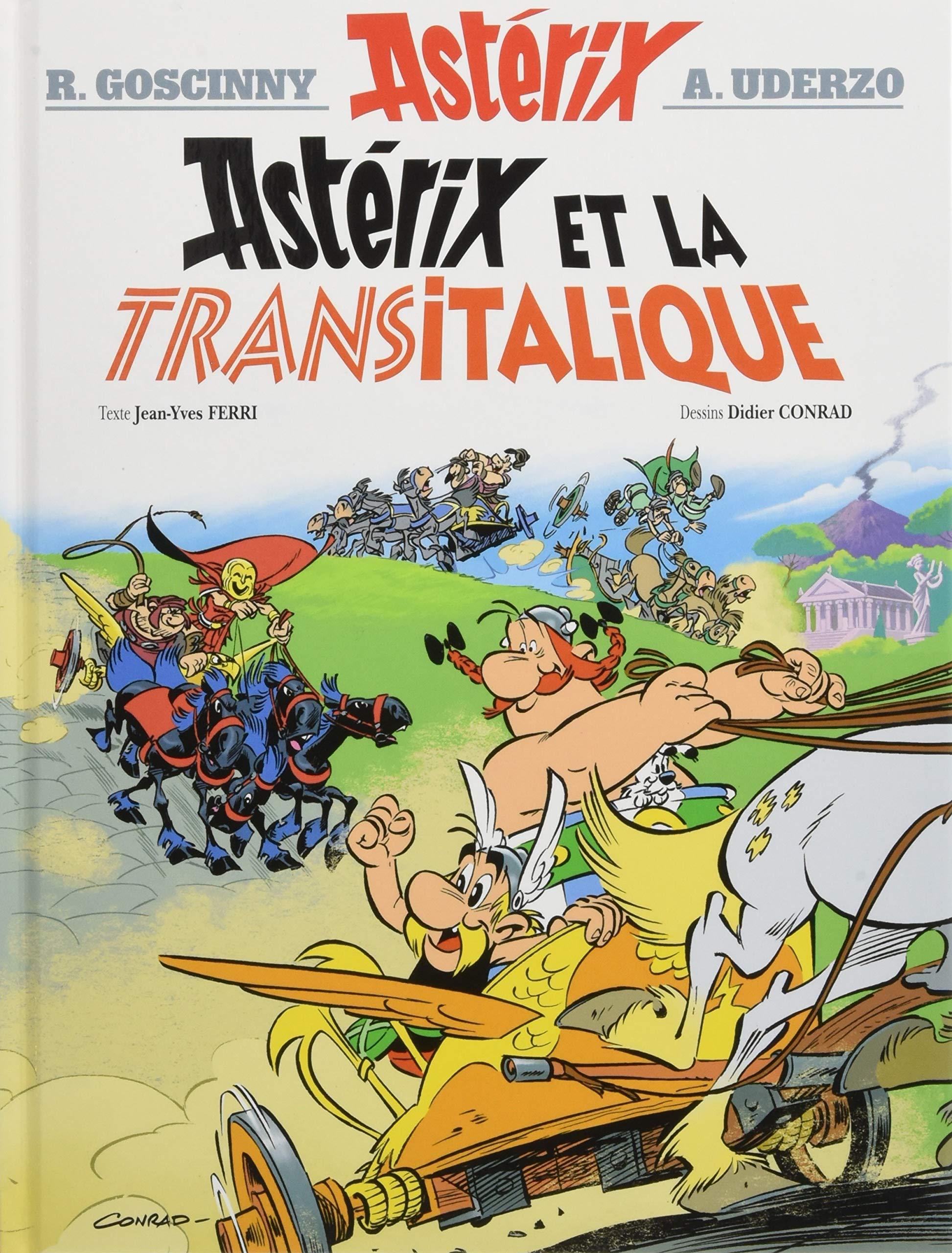 Asterix 37 - Astérix et la Transitalique: Bande dessinée