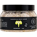 Caim & Able Magnesium Body Scrub 300g NOURISH - Coconut & Australian Desert Lime - Magnesium Sulphate Australian Made & Owned Birthday Gifts For Her natural vegan cruelty free