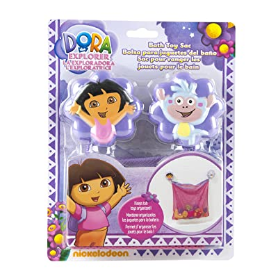 Nickelodeon Dora The Explorer Mesh Bath Toy Organizer : Bathtub Toys : Baby