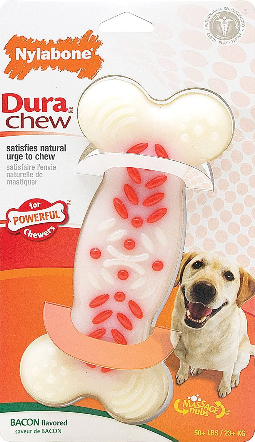 Nylabone Durachew Action Ridges Bacon Souper