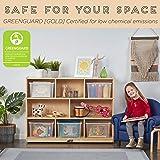 ECR4Kids Birch 8-Section School Classroom Storage
