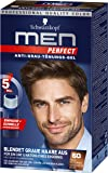 Schwarzkopf Men Perfect Anti-Grau-Tönungs-Gel, 60 Natur Mittelbraun 3er Pack (3 x 80 ml)