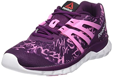 Reebok Sublite XT Cushion Grftmt - Zapatillas de Running, Mujer: Amazon.es: Zapatos y complementos