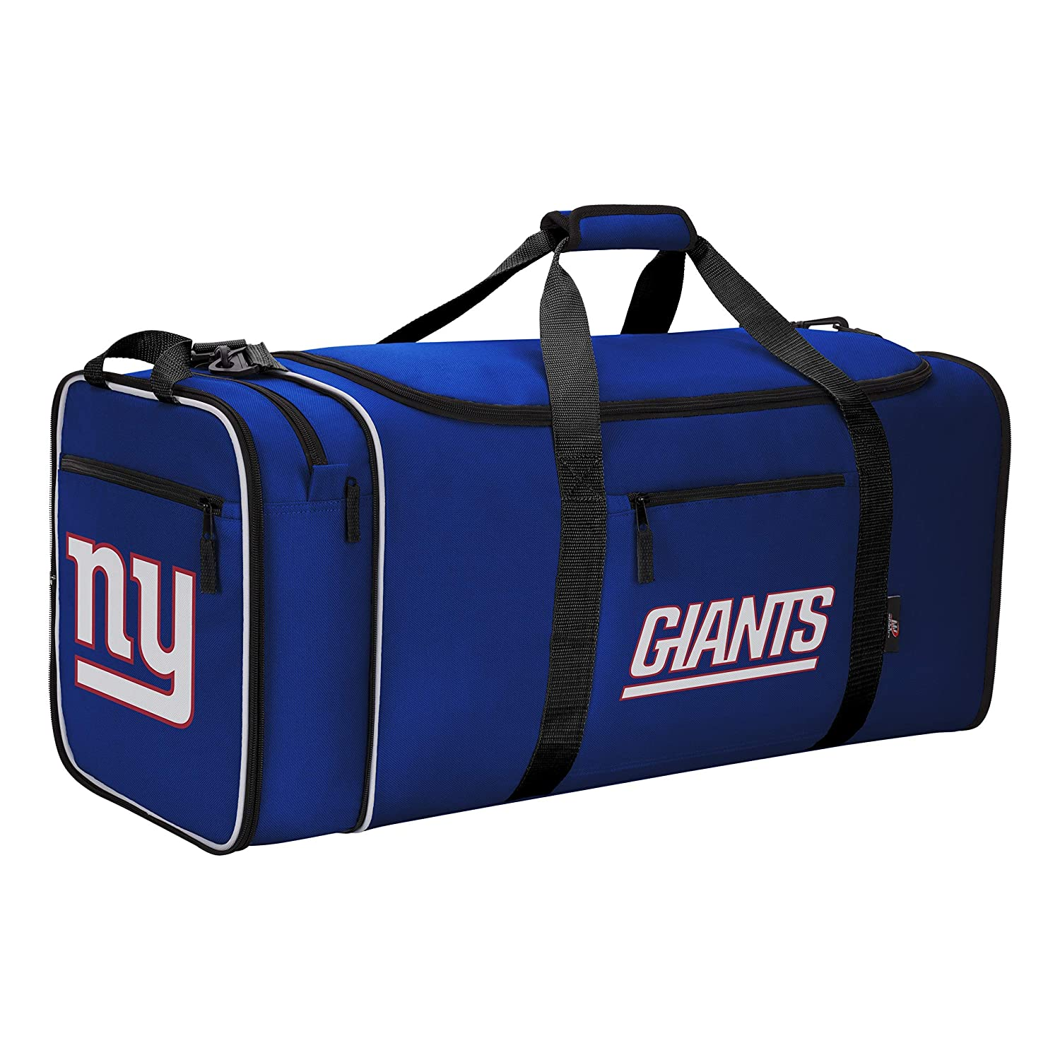 Renewed Multi Color Officially Licensed NFL Steal Duffel Bag 28 x 11 x 12