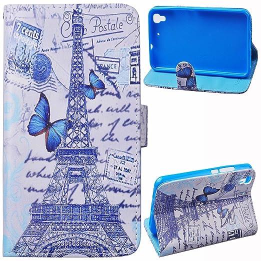 122 opinioni per Voguecase® Per Huawei Y6(Torre 02) Elegante borsa in pelle Custodia Case Cover