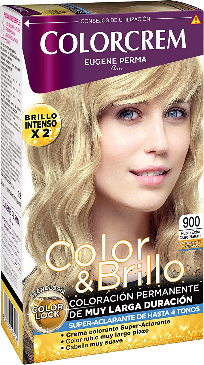 COLORCREM tinte Rubio Extra Claro Natural Nº 900 caja 1 ud