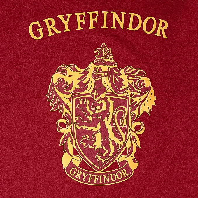 pijama pijamas de las mujeres Harry Potter Gryffindor de algodón rojo Elbenwald - S: Amazon.es: Ropa y accesorios
