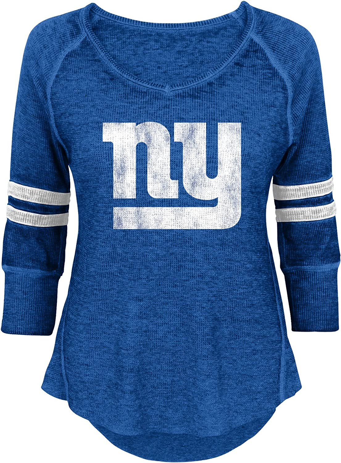 NFL Junior Girls Relaxed 3//4 Thermal Top