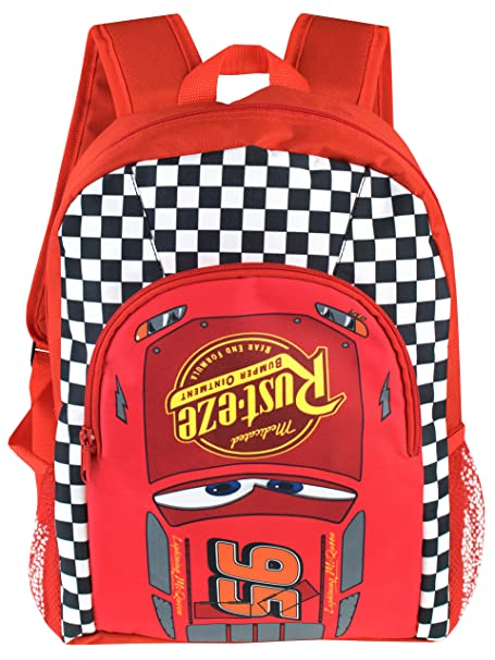 5be9030569 Image Unavailable. Image not available for. Color  Disney Cars Boys Cars  Lightning McQueen Backpack
