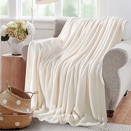 Amazon.com  Reafort Ultra Soft Flannel Fleece All Season 350GSM ... cd17ff6c6