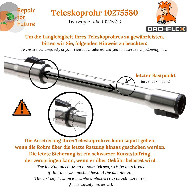 Details about  /35mm Staubsaugerrohr Saugrohr Teleskoprohr kompatibel für Miele S5 Premio Plus